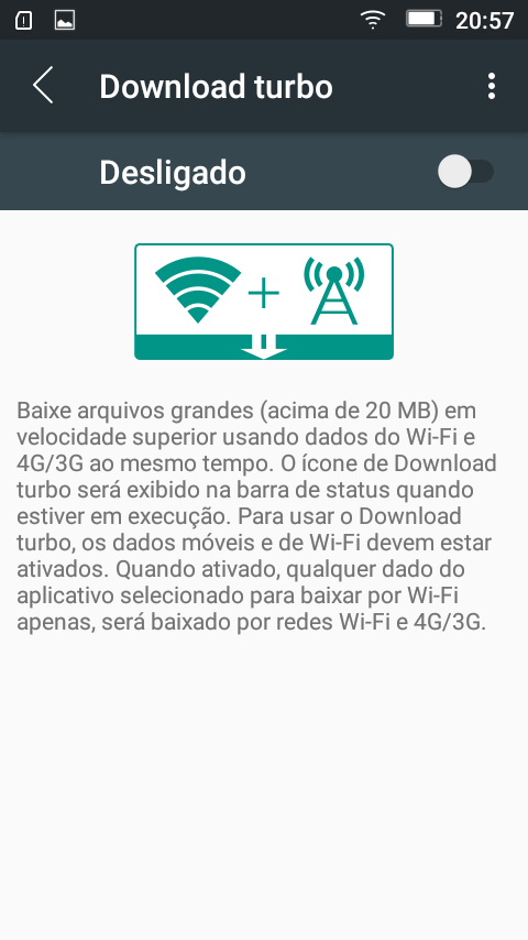 Download rápido